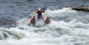 Rafting on the Lochsa River